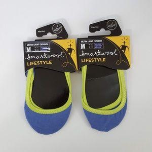 {Smartwool} LOT OF 2 Merino Wool Low No Show Socks